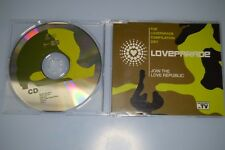 Love parade - The loveparade compilation 2001 Promotional CD-SINGLE PROMO