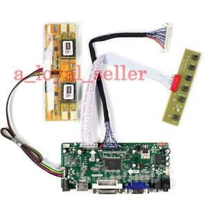 "HDMI+DVI+VGA LCD LED Screen Controller Board Kit for 21.5"" M215HW01 V0 1920x1080"