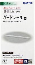 Tomytec (Komono 121) Guardrail B (Highway Guardrail) 1/150 N scale