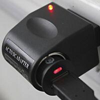 US Plug Black 220V AC to 12V DC Car Cigarette Lighter Socket Charger Adapter New