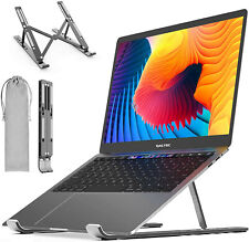 Portable Laptop Stand Ergonomic Adjustable Designed for Laptop and Tablets - New