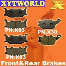 FRONT REAR Brake Pads YAMAHA XJ6-F Diversion 600 Full Fairing 2013 2014 2015