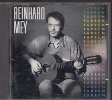 REINHARD MEY Farben 1990 CD INTERCORD GERMANY sung in german