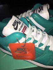 Supreme x Nike SB AF2 Teal sz 10
