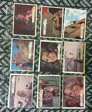 THE BIONIC WOMAN COMPLETE 1976 DONRUSS CARD SET OF 44 IN SHEETS! Lindsay Wagner