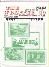 THE WRAPPER #92 - Non-sports card fanzine - Fightin Marines, FLAGS OF THE WORLD