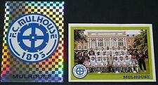 PANINI FOOT 1994 FC MULHOUSE ALSACE COMPLET FOOTBALL SAISON 1993-94