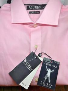"""Men's RALPH LAUREN Ultra Flex """"Non-Iron"""" Long Sleeve Dress Shirts"""