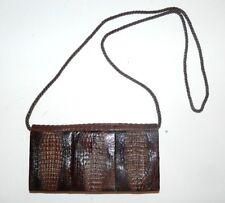 BORSA VERA PELLE originale vintage anni 50 leather bag sac modernariato  BORSA-