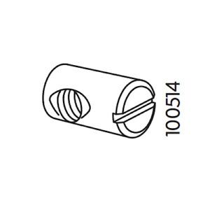 3x Ikea Cross Dowel Metric Nut Steel Part# 100514