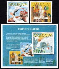 Moldova 236-237,238 S/S, MNH. Europa. Stories and Legends, 1997