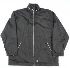 Vintage K-WAY Waterproof Hooded Jacket   Men's L   Rain Wind Coat Retro