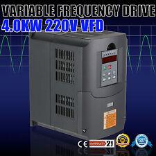 4KW VFD VARIATEUR DE FRéQUENCE SOLUTIONS LOW OUTPUT 220-250V FACTORY PRICE