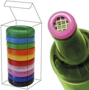 KippCap Insektenschutz Flaschen Schutz 10er Set bunt