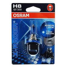OSRAM H8 35 Watt 12 Volt 64212XR X-Racer Lampe PGJ19-1 Motorrad 35W Xenon-Look
