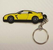 Nissan GTR R35 Key Anello Yellow