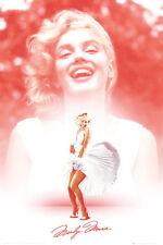 Marilyn Monroe Poster Laughing Dress Classic Iconic Art Print 24x36
