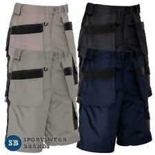 Mens Ultralite Multi Pocket Shorts Workwear Industrial Light Weight Work ZS510