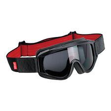 Biltwell Overland Gafas, Gafas para moto, Rojo para Casco Piloto / Antivaho