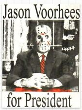 Horror Movies For President Serial Killer Hockey Mask Awesome 3x2 Punk Sticker