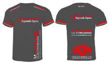 Danny Gamble Open Commemorative Edition T-Shirt - Charcoal & Red/Silver