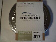 1- Spool With Tin Of Cortland Precision Competition Wf-F Tip Dia .017 (Nip)