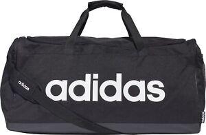 adidas Linear Logo Large Holdall - Black