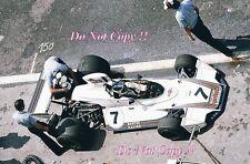 Carlos Reutemann Martini Brabham BT44B F1 temporada 1975 fotografía 1