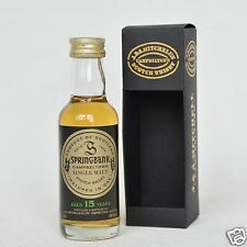 SPRINGBANK 15 Years Old Single Malt Whisky 46% 50ml Mini