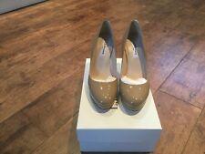 LK Bennett Sledge Shoe Taupe Size 38 New