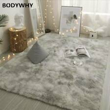 Carpet Dyeing Plush Soft Carpets for Living Room Bedroom Anti-slip Floor Mats