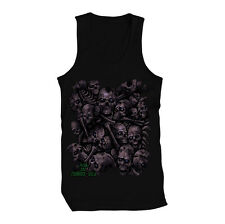 Zombie Skulls Heads Death Decay Plague Infected Scary  Mens Tank Top