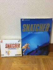 Snatcher Offiziell Ratgeber Mit Pc-Modul Super CD - ROM Software Set Gebraucht