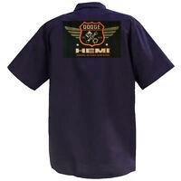 Dodge Hemi - Mechanics Graphic Work Shirt  Short Sleeve