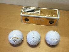 New - 3x Bolas Golf CALLAWAY - E·R·C Hot - 3x Golf Ball - Nuevas