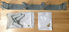 """Central Steel HMS119DGK 19"""" Horizontal Cable Management Panel 1RU 4 Ring Grey"""