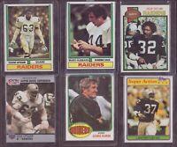 Vintage Oakland Raiders Coolest Cards Made+**Blanda AUTOGRAPH & INSCRIPTION**