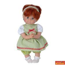 Schummerle DOLL 32cm - Ging Dress Ginger Hair - Sleeping Eyes - by Schildkrot