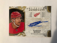 Madison Bowey 2019-20 Artifacts Autofacts A-MB Red Wings