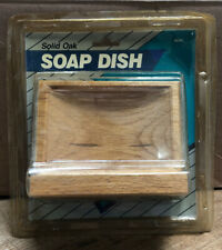 New Solid Oak Soap Dish Model #49342.