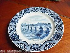 """Societe Ceramique Maastricht, made in Holland collector plate  9 1/2"""" diam[a1]"""