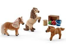 Schleich® Horse Club 42362 Pferdepflegerin mit Shettys Blitzversand DHL-Paket