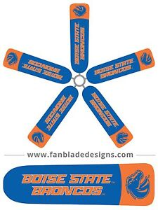 Boise State Ceiling Fan Blade Covers