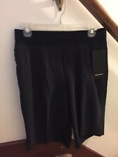 "NWT Lululemon THE Short 11"" Linerless SZ M Medium BLK Black"