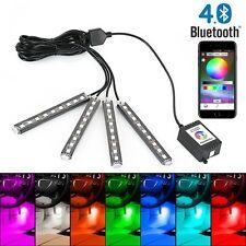 36 5050 LED RGB Interior Light Car Neon Strip Lamp Music Phone Bluetooth Control