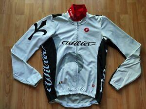 Castelli Wilier Triestina Men's Gore Windstopper Cycling Jacket Size: M NEW !