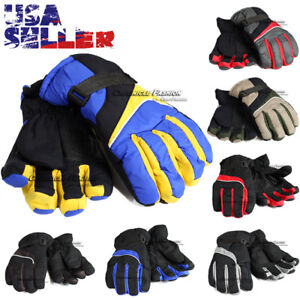 Winter Thermal Gloves Warm Waterproof Sports Ski Snowboarding Outdoor Men Women