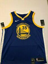 50ab58fb3d8 Nike Kevin Durant Golden State Warriors Swingman Jersey NBA Men 864475-496  2XL