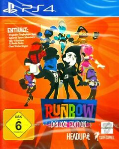 Runbow Deluxe Edition PS4 Neu und OVP