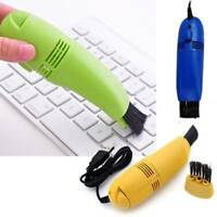 Mini Computer Vacuum USB Keyboard Cleaner PC Laptop Brush Dust Cleaning Tools